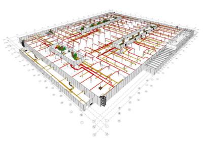 Projekcia a konštrukcia od Gremi Klima