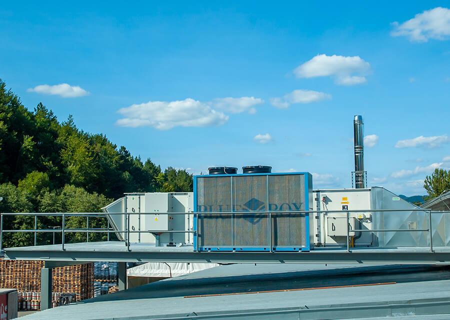 Referencie Kofola a.s. Rajecká Lesná – vetranie výrobnej haly od Gremi Klima