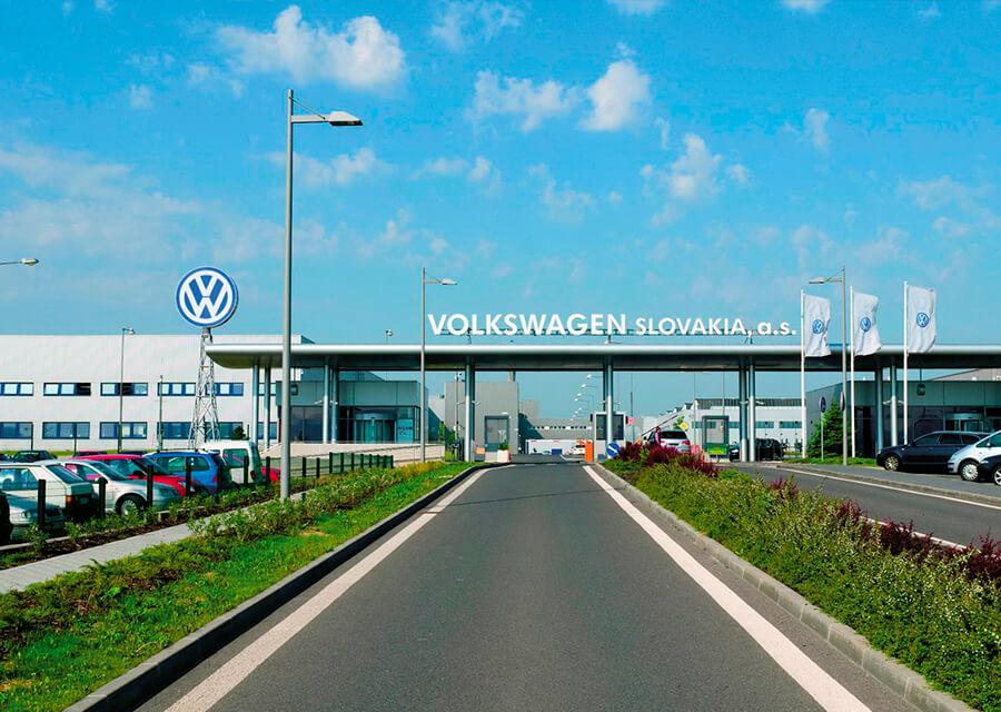 Referencie Volkswagen Luftung und MSR-Technik in Karosseriebau H4C od Gremi Klima